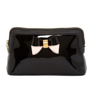 Ted Baker Rosamm Coloblock Bow Makeup Bag